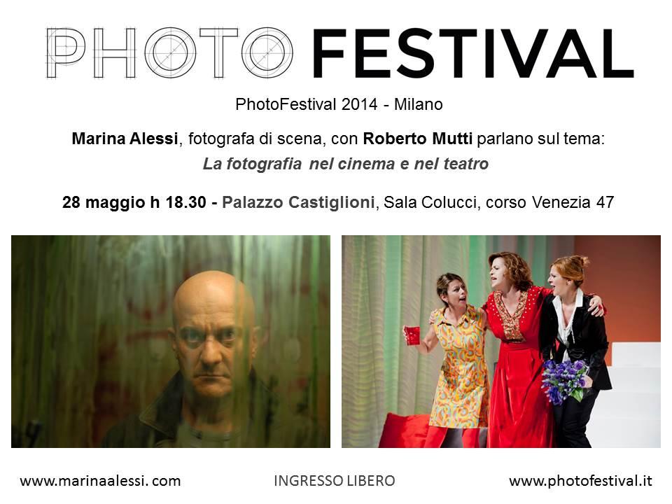 Photofestival:la fotografia nel cinema e nel teatro